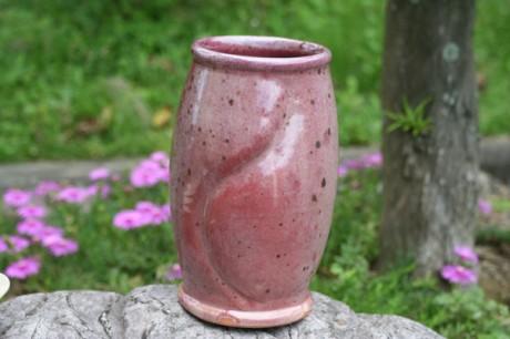 辰砂釉花瓶